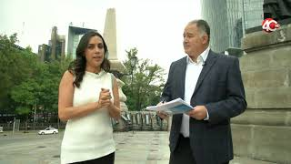 Discovery Channel Historia del angel independencia de México DF