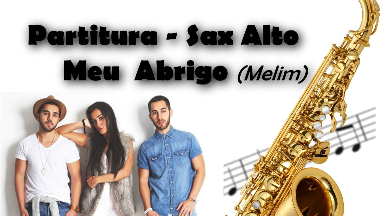 Partitura (Sax Alto Eb) - Meu Abrigo (Melim) (Swingueira) #1