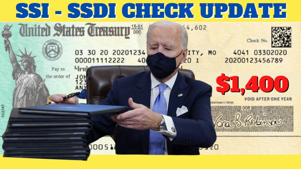 FINALLY! $1400 Stimulus Checks For Social Security Seniors  + Medicare | 4th Stimulus Package Update