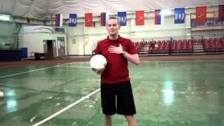 Урок №3 «Прием мяча на грудь»