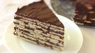ШОКОЛАДНЫЙ ТОРТ без выпечки/ Самый простой Торт из печенья