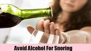7 Natural Cure For Snoring