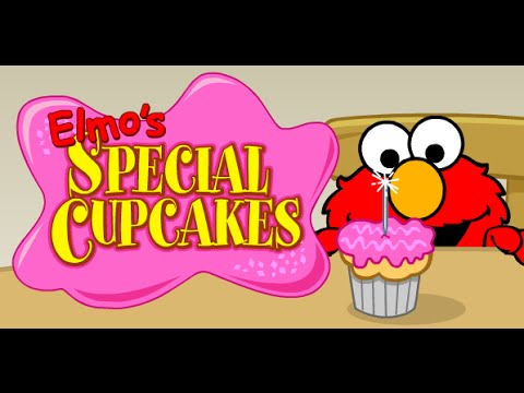 Elmo's Special Cupcake with Mummy | Games . Sesame Street | PBS Kids