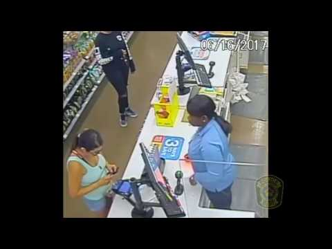 Raw: 2 people caught on video using credit cards stolen in Sugar Land robbery