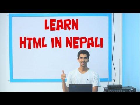 HTML Complete Tutorial In Nepali