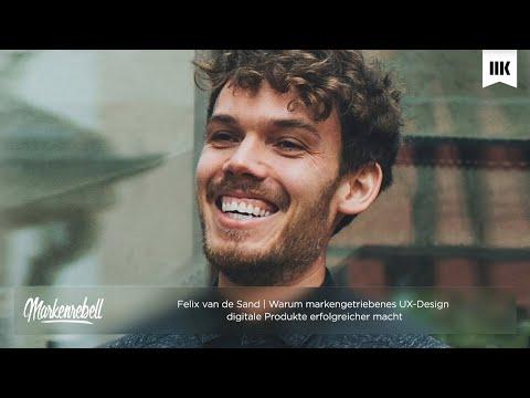Felix van de Sand Teil 1  | Sei keine Plastikblume - Wie du echte Marken in eine Designsprache über