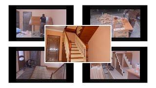 Изготовление лестницы ,покраска, сборка, обзор /ступенька 48
