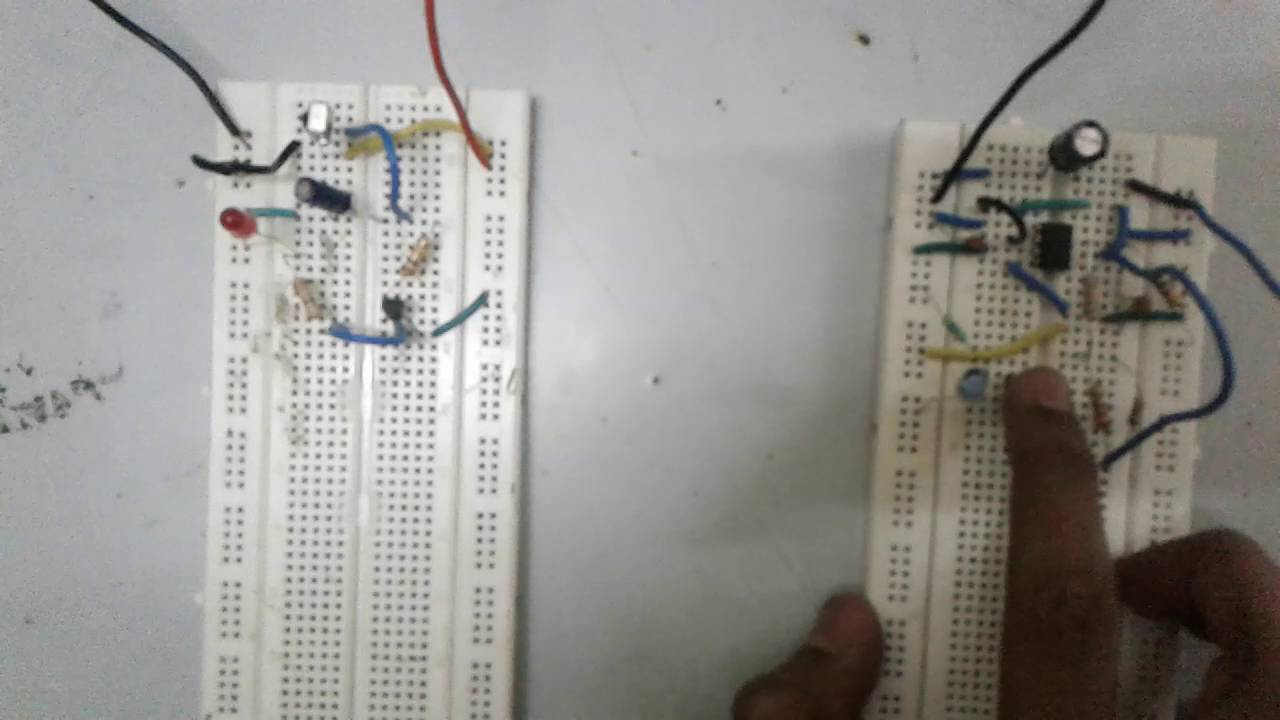 Infrared Remote Control Using Tsop Sensor And Ic 555 Youtube Ir Switch Circuit Applications