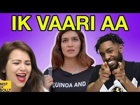 """Americans React To """"Ik Vaari Aa"""" From Raabta"""
