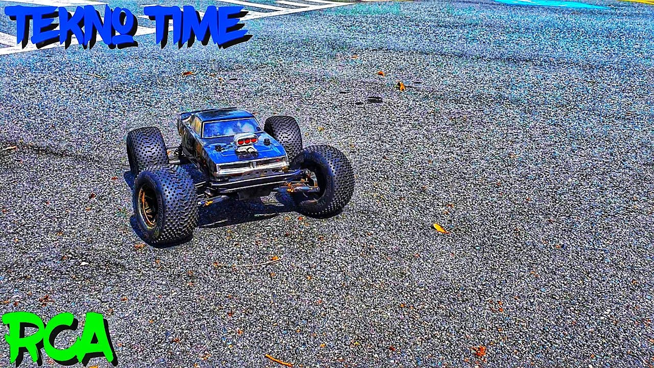 Tekno MT410  Round 6s CarPark Jump Around