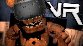 VR Five Nights at Freddys (FNAF) Night 1 for HTC ViveOculus Rift! New Vive Nights at Freddy's