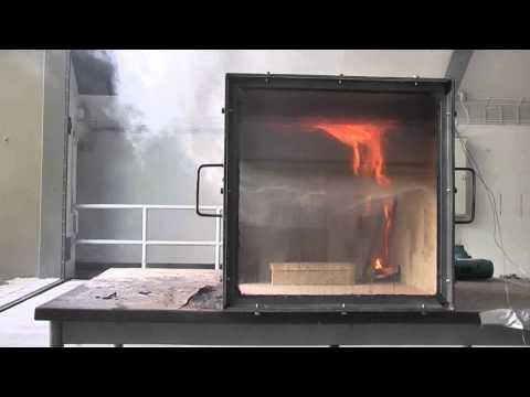 Rollover, Flashover and Backdraft in fire simulator. (Brandverloop) streaming vf