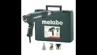 фен технический Metabo HE 23-650 Control - Обзор и Тест