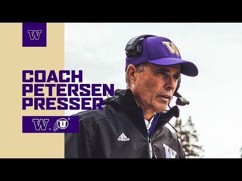 FB: Chris Petersen Postgame Press Conference (Utah Game)