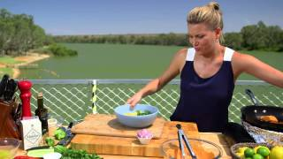 Tandoori Chicken And Mango Salad - Justine Schofield - Celebrity Cruise - Murray Princess