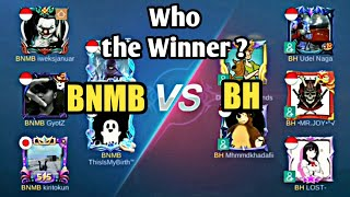 Tanding Squad BNMB VS BH Squad   Who Win ?   MOBILE LEGENDS