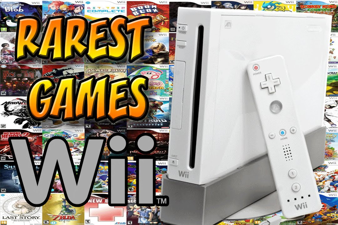 Top 15 Rarest Wii Games   Most Expensive Wii Games   YouTube