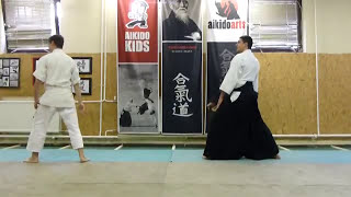 gyakuhanmi katatedori udekimenage ura [TUTORIAL] Aikido empty hand basic technique