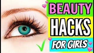 Beauty Life Hacks for Girls