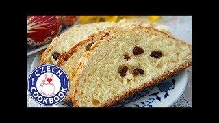 Easter Bread Recipe Mazanec Czech Cookbook