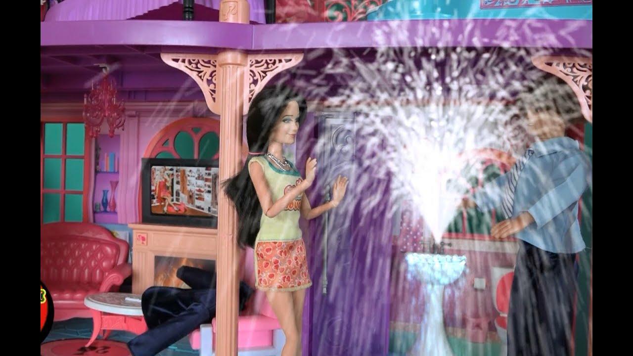 Мультик с куклами для девочек, Дом мечты Ракель, прорвала ...
