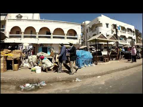 Streets of Africa. Dakar, Senegal