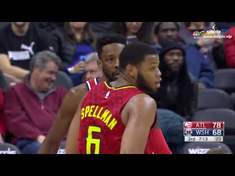 Atlanta Hawks vs Washington Wizards NBA 2018-19 Highlights 1080P (2019-2-4)