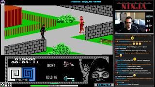The Last Ninja прохождение (U) | Игра (Dendy, Nes, Famicom, 8 bit) Jaleco 1991 Стрим RUS