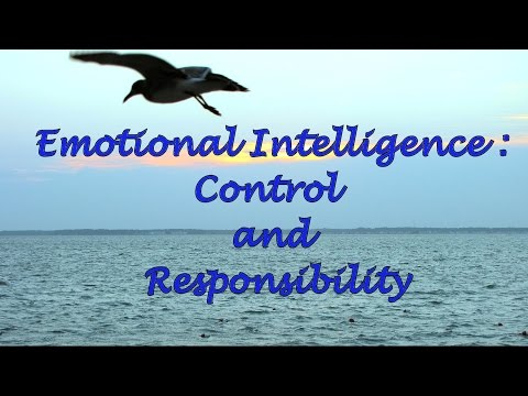 Emotional Intelligence: Control and Responsibility