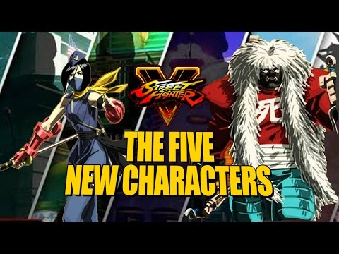 WHO ARE THE 5 NEW CHARACTERS?! Everything We Know About Street Fighter 5 Season 2