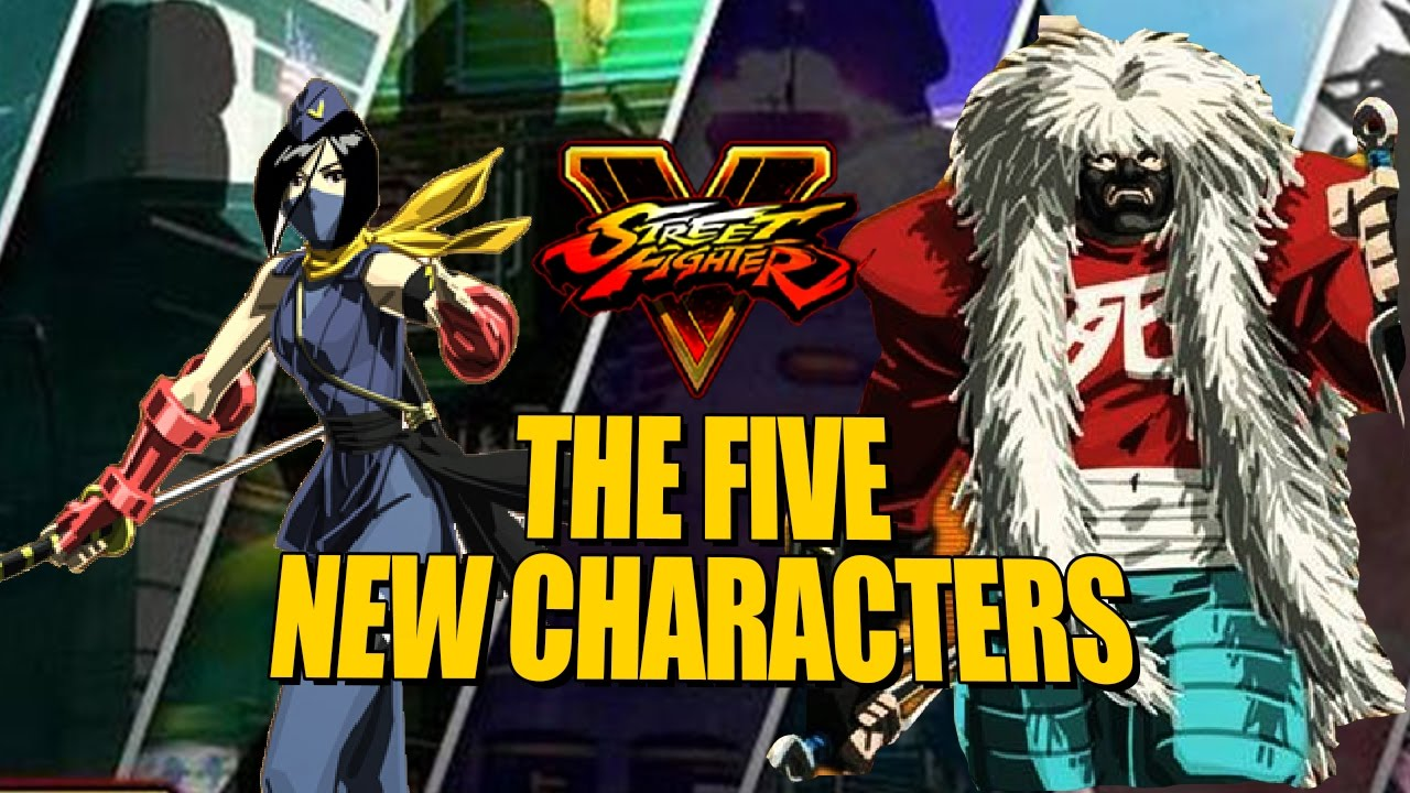 Street Fighter V Character Reveal Coming Soon Game Party Next