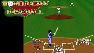 World Class Baseball ... (TurboGrafx-16) 60fps