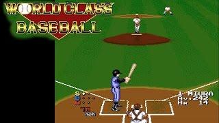 World Class Baseball ... (TurboGrafx-16) 60fps