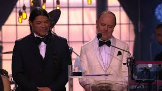 Baixar Lars Ulrich and Robert Trujillo from Metallica receive the Polar Music Prize