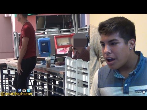 HOMOSEXUAL BOYFRIEND TEST HIS LOVER WITH ANOTHER MAN!