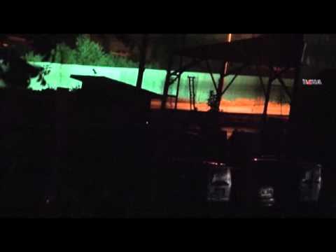 Polis kontrol noktasına roketli saldırı...