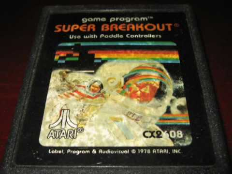 Classic Game Room - SUPER BREAKOUT for Atari 2600