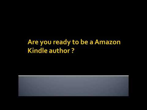 Kindle Author in next 2 days!!!
