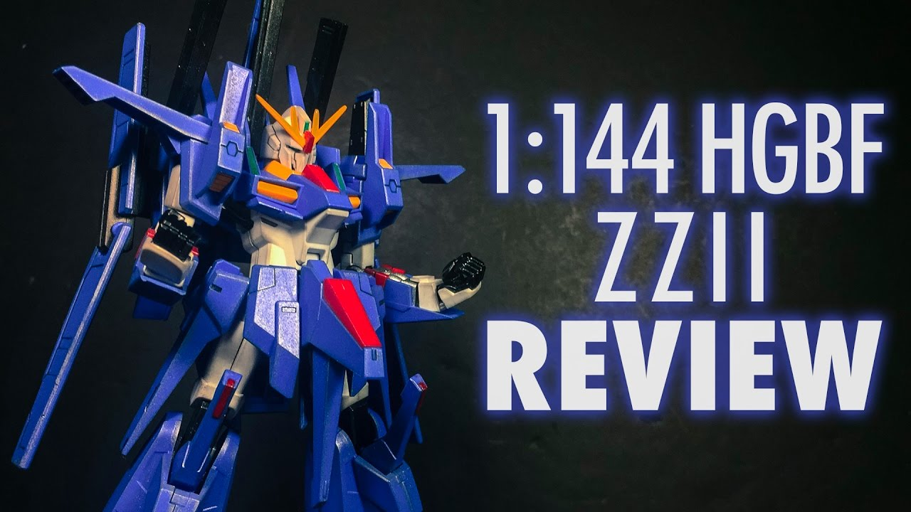 1 144 Hgbf Zzii Gundam Build Fighters Try Review Youtube Mg Rx78 2 Verka 114215