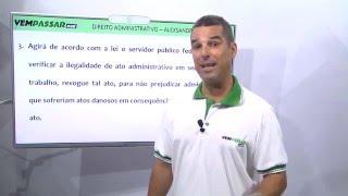 DIREITO ADMINISTRATIVO | Aulão de Resolução de questões CESPE/FCC - Alexsandre Mendes