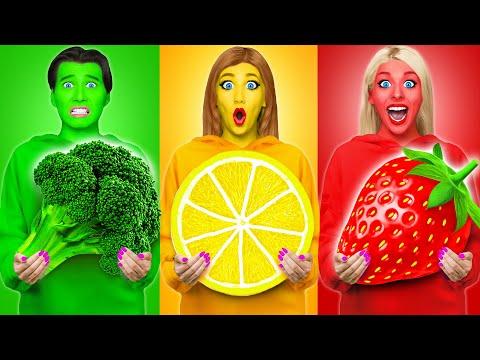 Essen Mit Derselben Farbe Challenge #6 von Multi DO Challenge