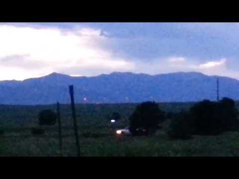 UFO caught on video near Peterson Air Force Base!!! What the heck is it?
