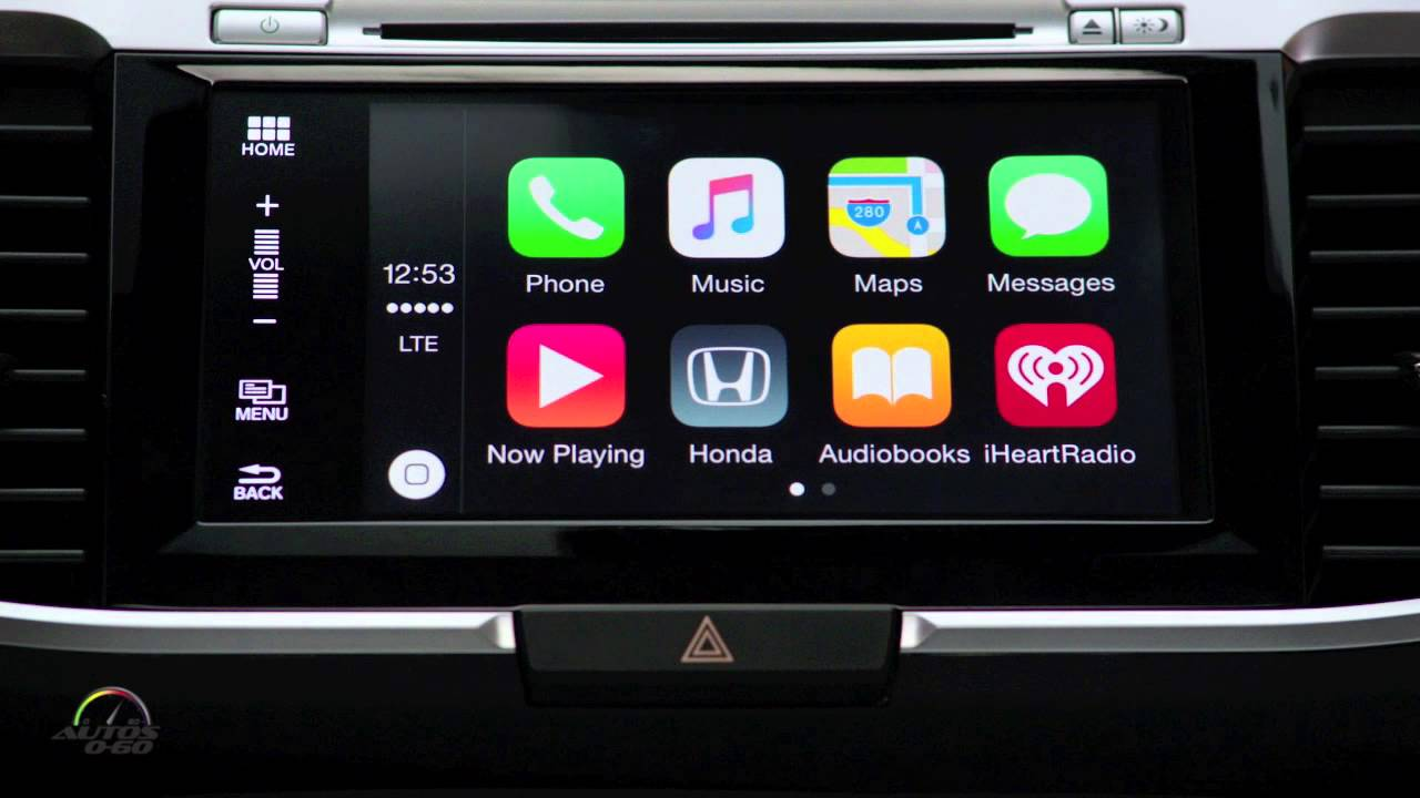 2016 honda accord with apple car play youtube for Honda car app