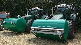 Fendt 936 Varios Pulling w/ Special Builded Manure Barrel Front Weight | Danish Tractor Pulling 2018