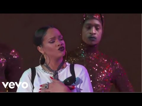 Rihanna   Take Care We Found Love/How Deep Is Your Love Global Citizen Festival