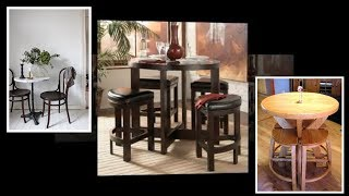 Awesome and Stunning kitchen bistro table and chairs with regard to Home