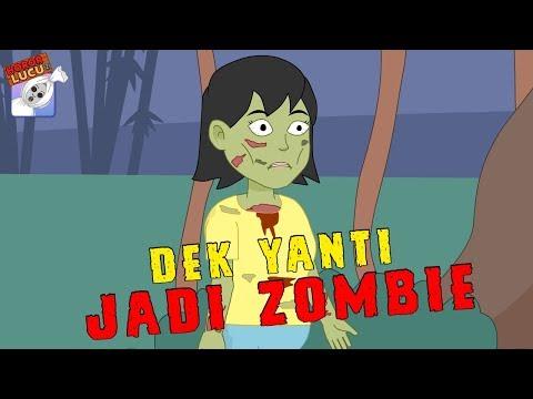 Kencan Horor☠Dek Yanti Jadi Zombie☠Funny Cartoon☠Musim 2☠Horor Lucu Episode 16