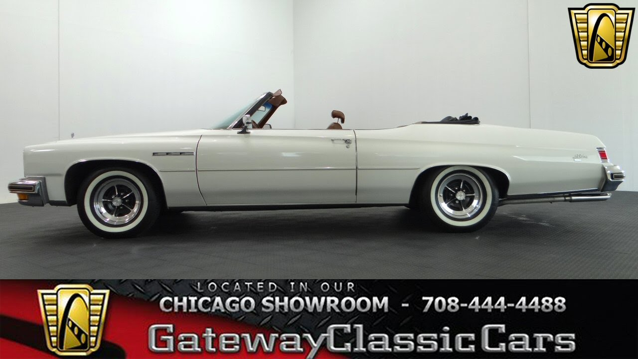 1975 Buick LeSabre Convertible Gateway Classic Cars #939