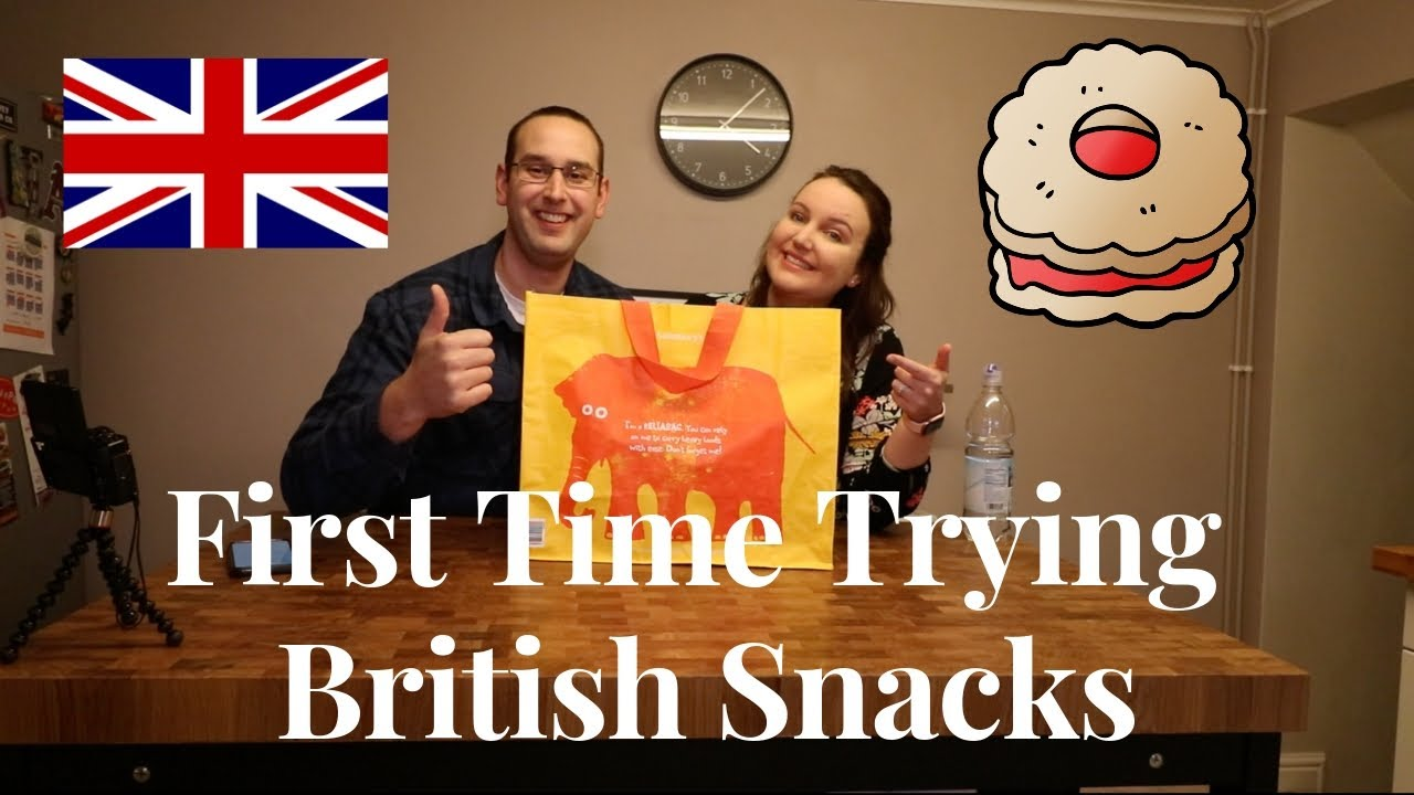 First Time Trying British Snacks - Youtube-7124
