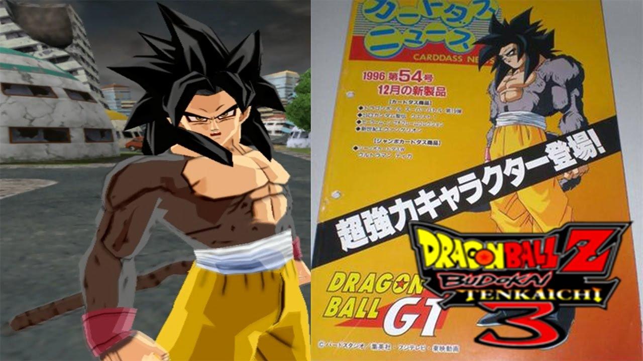 Goku SSJ4 Costume Alternative Budokai Tenkaichi 3 MOD (Read Description) & Goku SSJ4 Costume Alternative Budokai Tenkaichi 3 MOD (Read ...